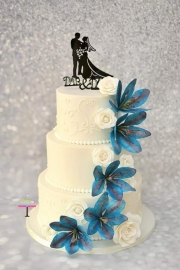 Doublesided weddingcake kant 2